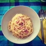 My mum's Spaghetti Carbonara