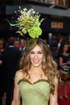 SJP in Philip Treacy hat