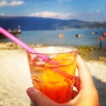 Aperol Spritz by the lake