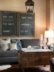 blackboard for living room