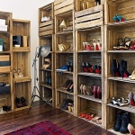 palette shoe closet