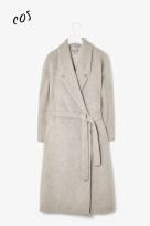 COS wool belted coat - winter 2013