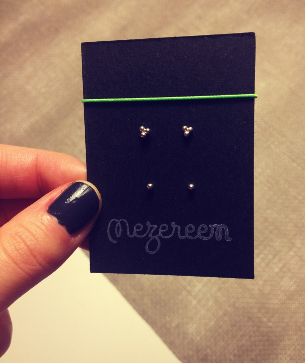 Mezereem earrings