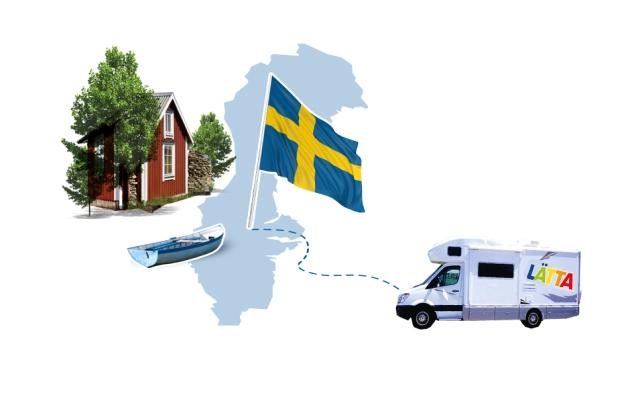 Lätta Schweden Rallye - gretasdrawer